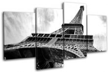 Paris Eiffel Tower Landmarks - 13-0762(00B)-MP04-LO